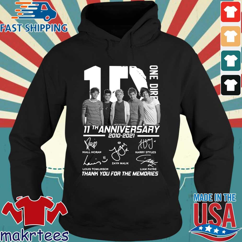1D one Direction 11th anniversary 2010 2021 signatures thank you for the memories s Hoodie den