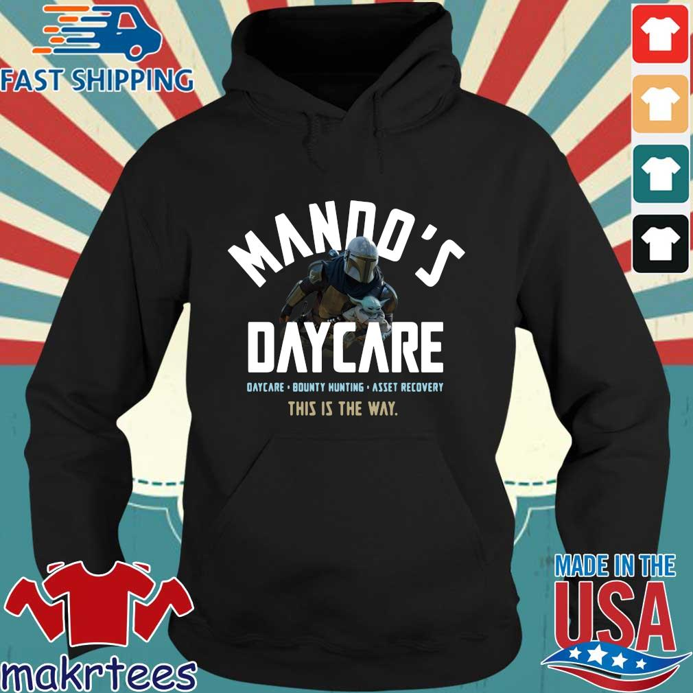 The Mandalorian and Baby Yoda mando's daycare this is the way s Hoodie den