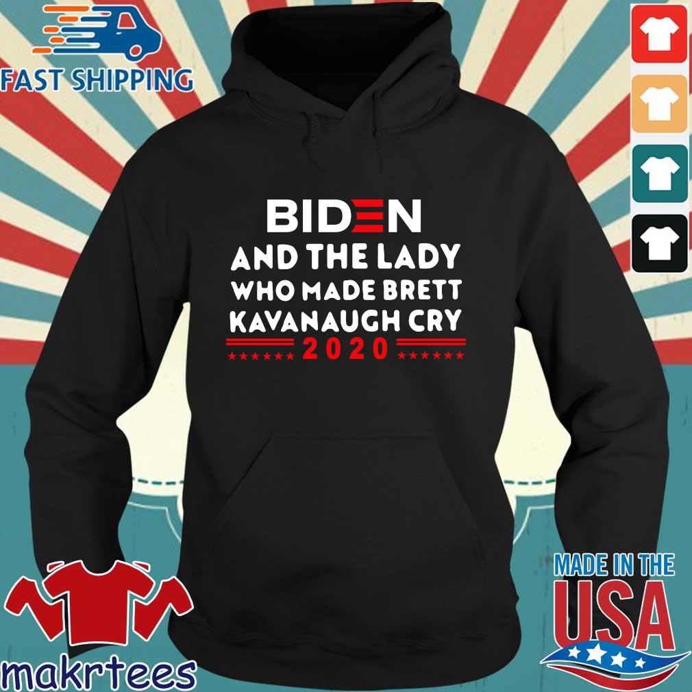 Biden and the lady who made brett kavanaugh cry 2020 s Hoodie den