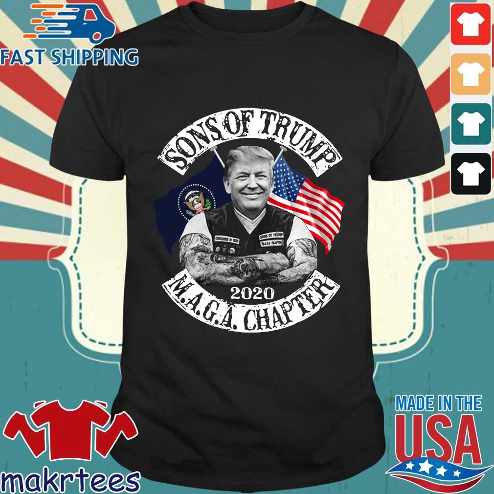 Donald Trump sons Trump Maga chapter 2021 shirt