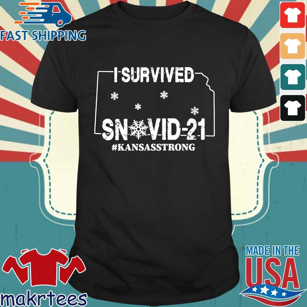 I survived snovid-21 #Kansasstrong shirt