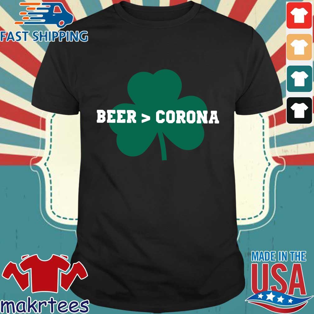 Shamrock beer Corona St Patrick's Day shirt