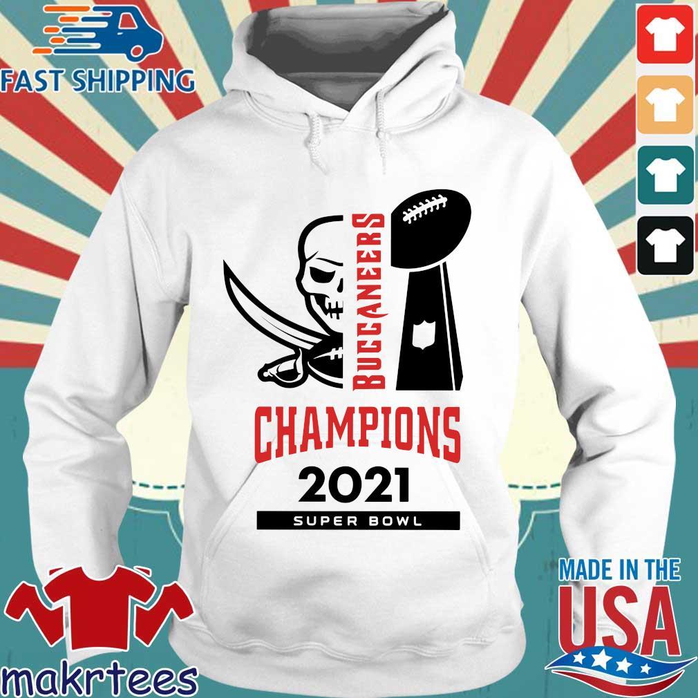Tampa Bay Buccaneers Champions 2021 super bowl s Hoodie trang