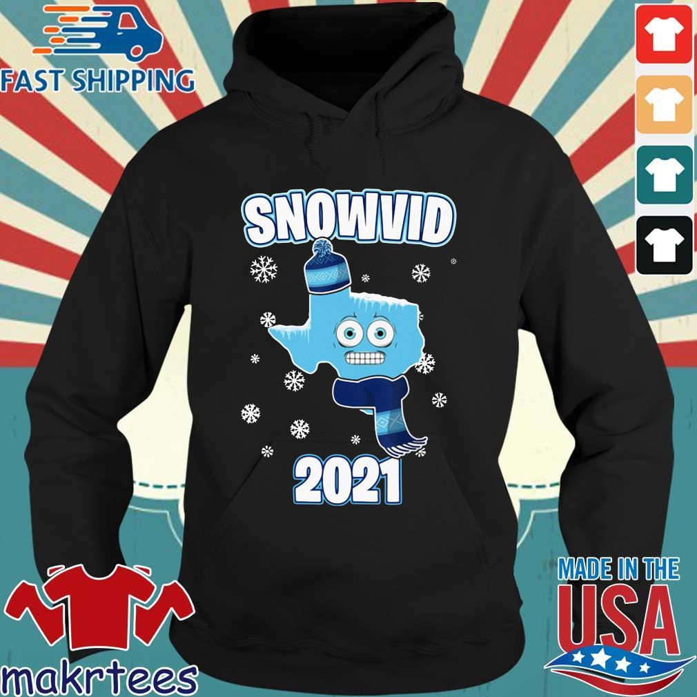 Texas cold snowvid 2021 s Hoodie den