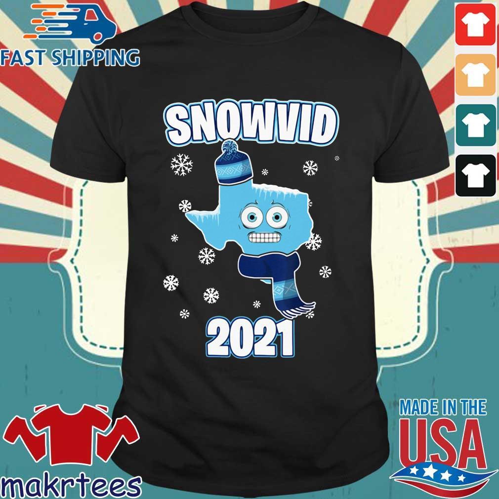 Texas cold snowvid 2021 shirt
