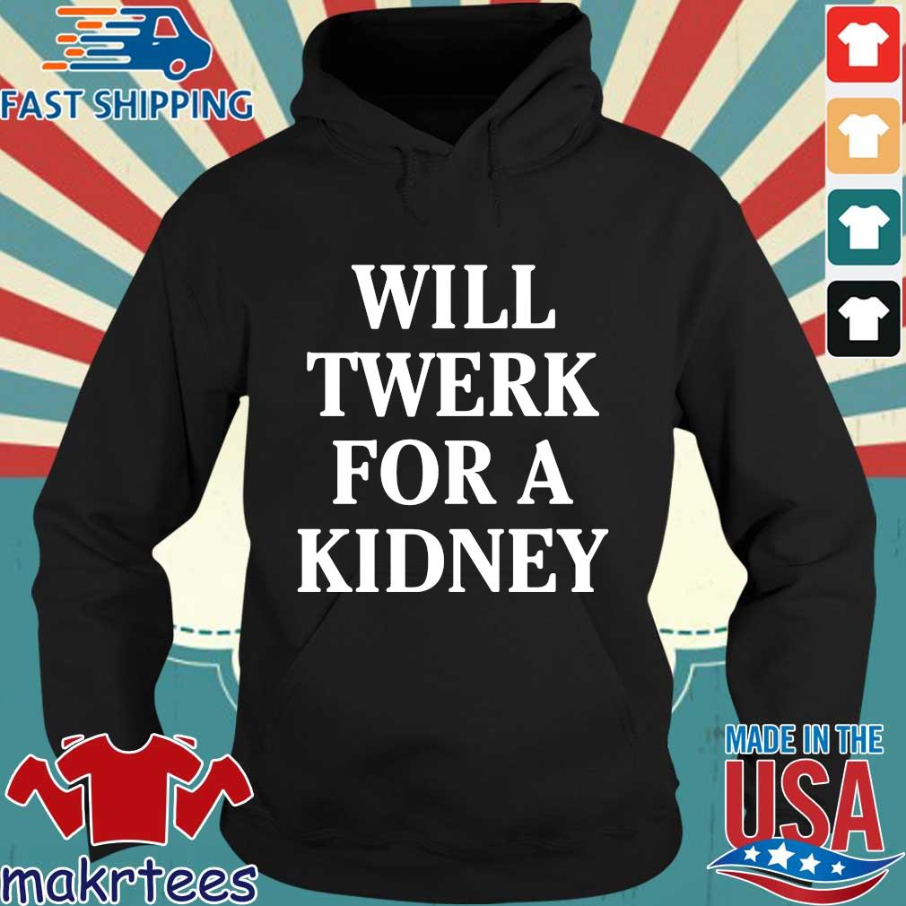 Will twerk for a kidney s Hoodie den