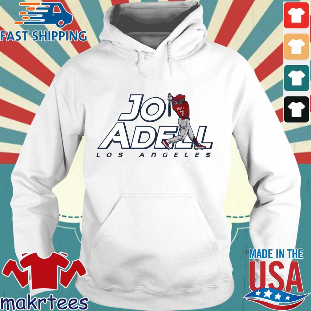 2021 Los Angeles Jo Adell Shirt Hoodie trang