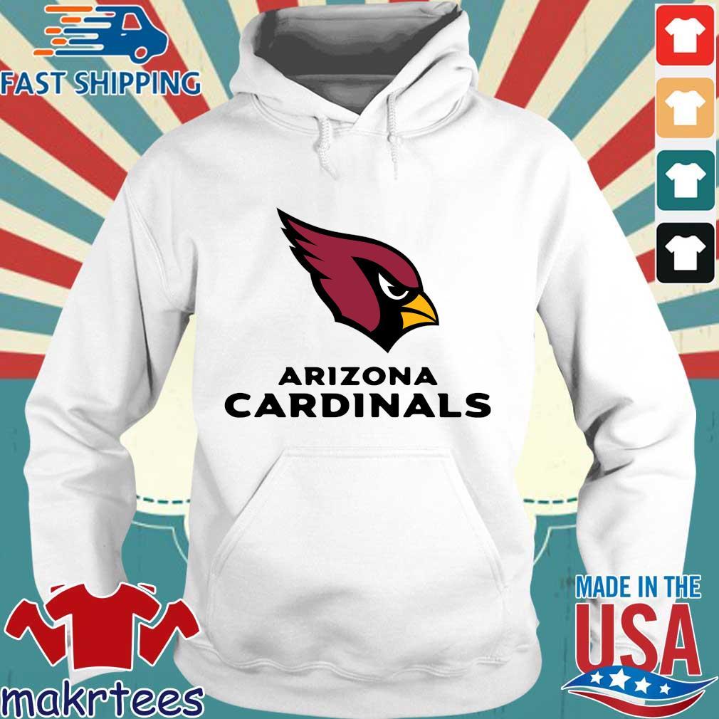 2021 NFL Arizona Cardinals Team Logo Hoodie trang