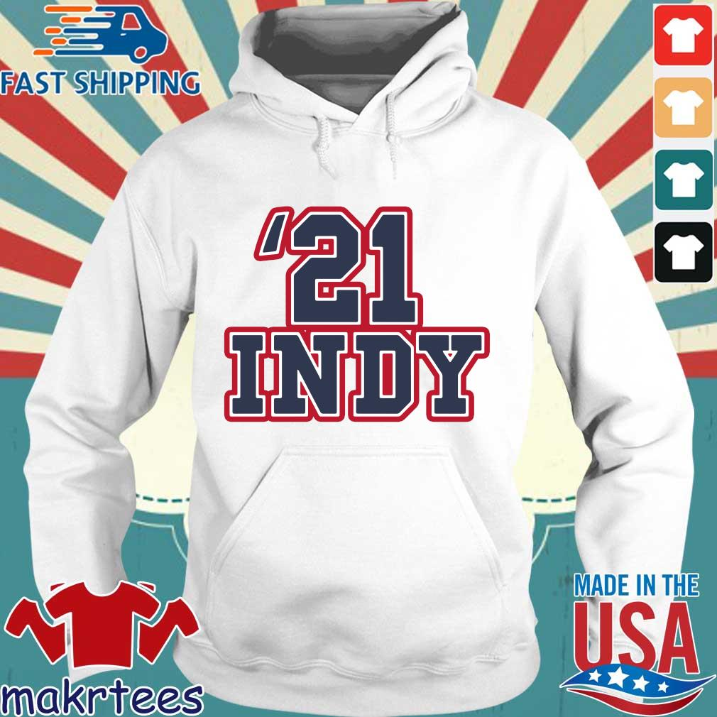 '21 Indy Pocket Shirt Hoodie trang