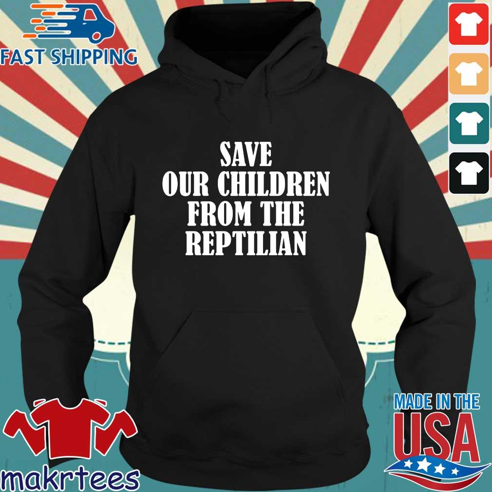 Save our children from the reptilian Hoodie den