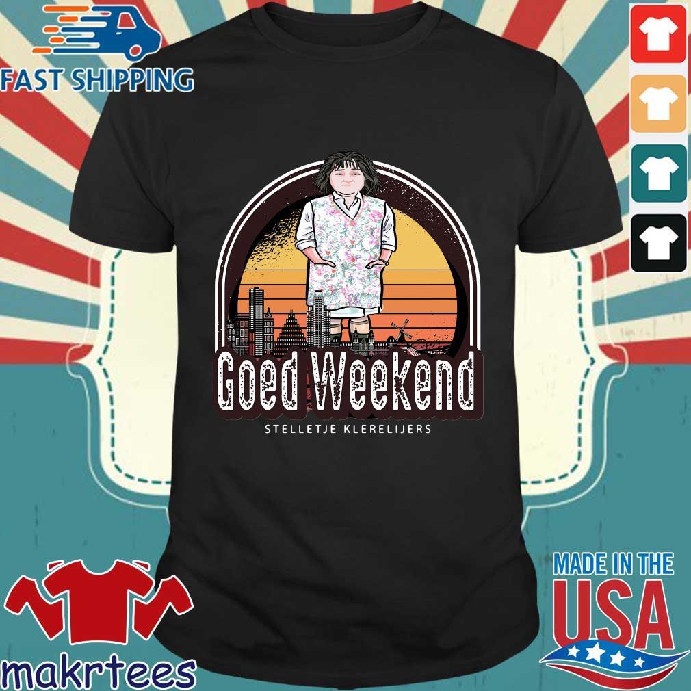 Goed weekend stelletje klerelijers vintage shirt