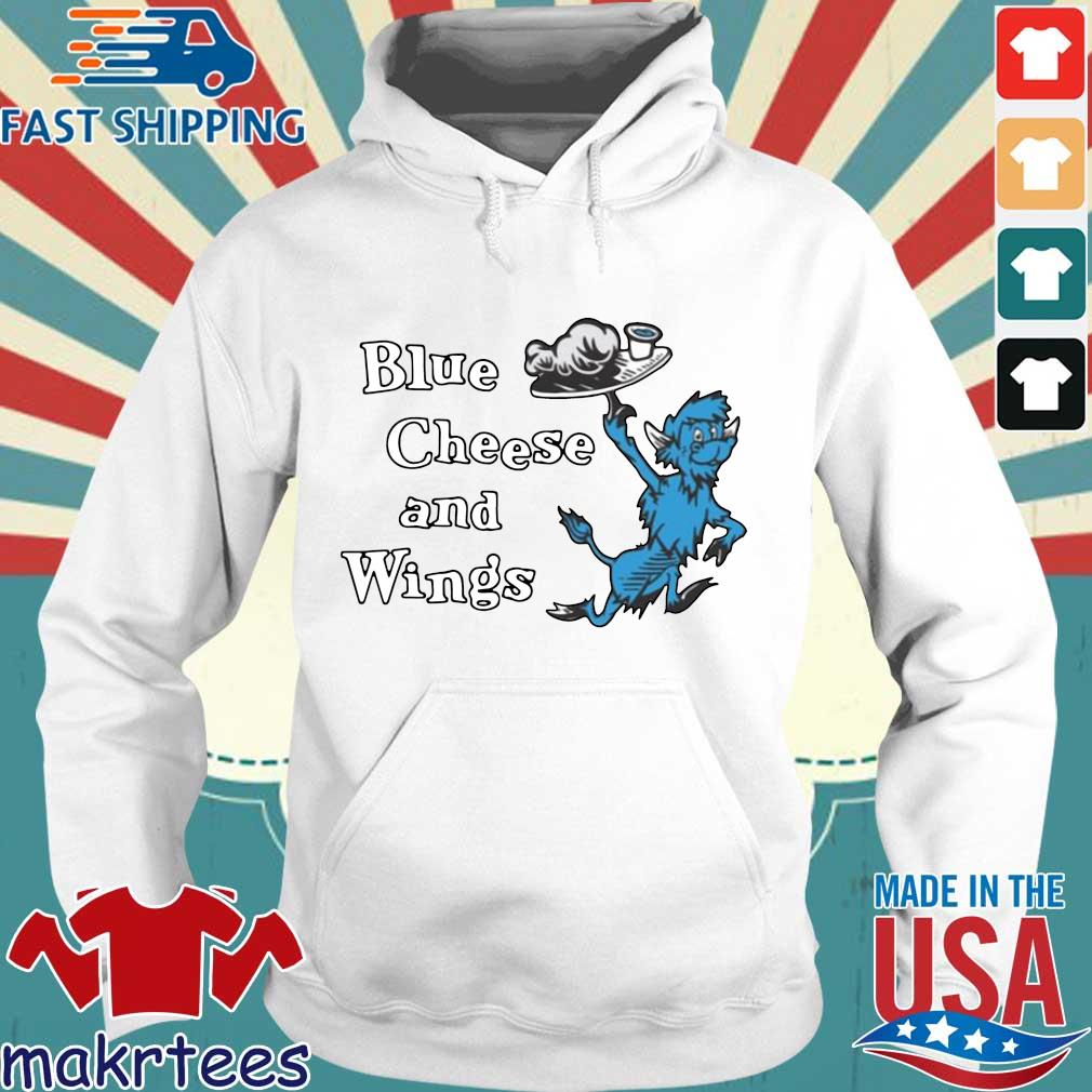 Hall of Fame Blue Cheese and Wings T-s Hoodie trang