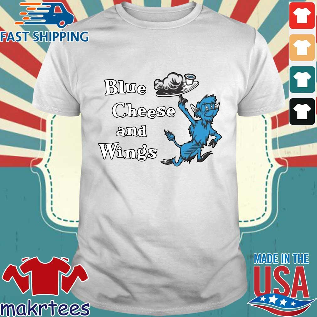 Hall of Fame Blue Cheese and Wings T-shirt