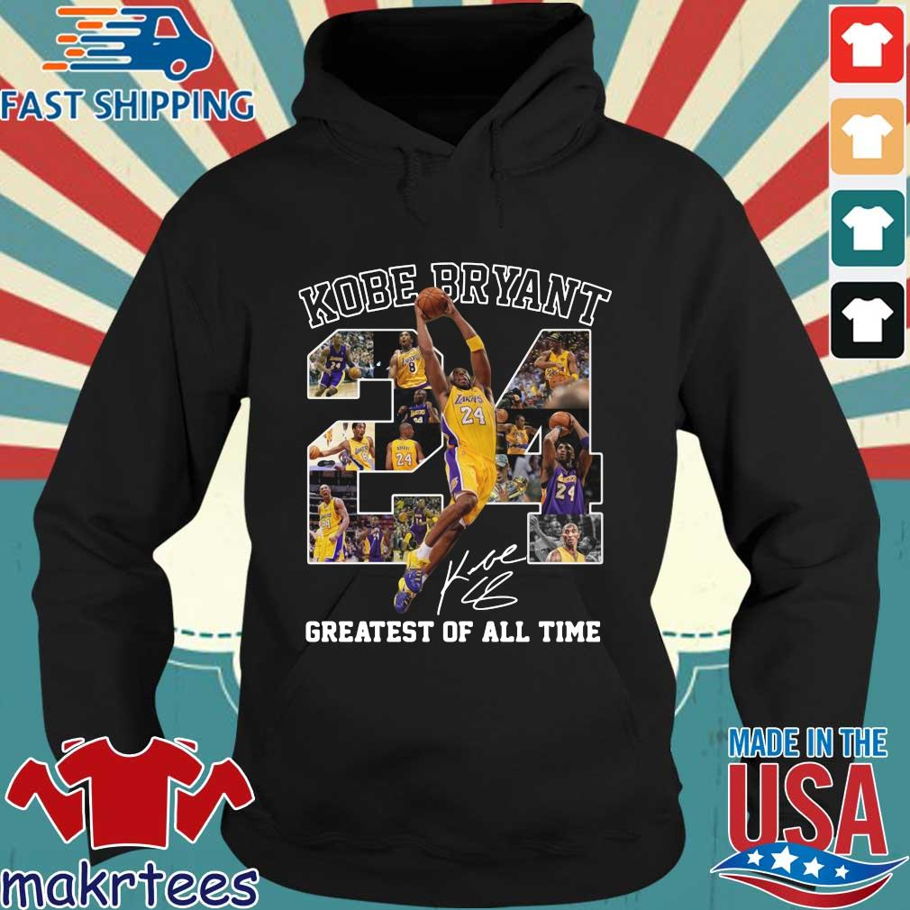 Kobe Bryant 24 signature greatest of all time Hoodie den