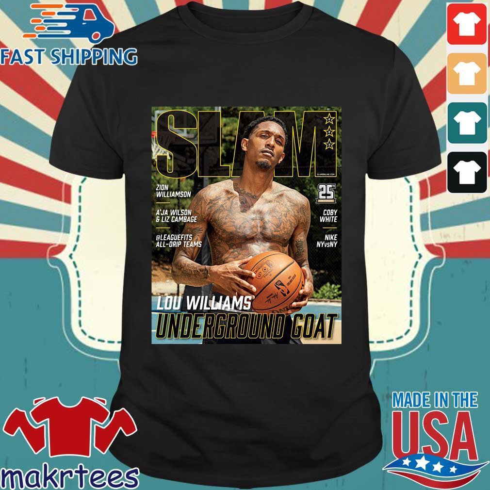 Lou Williams Underground Goat Slam shirt