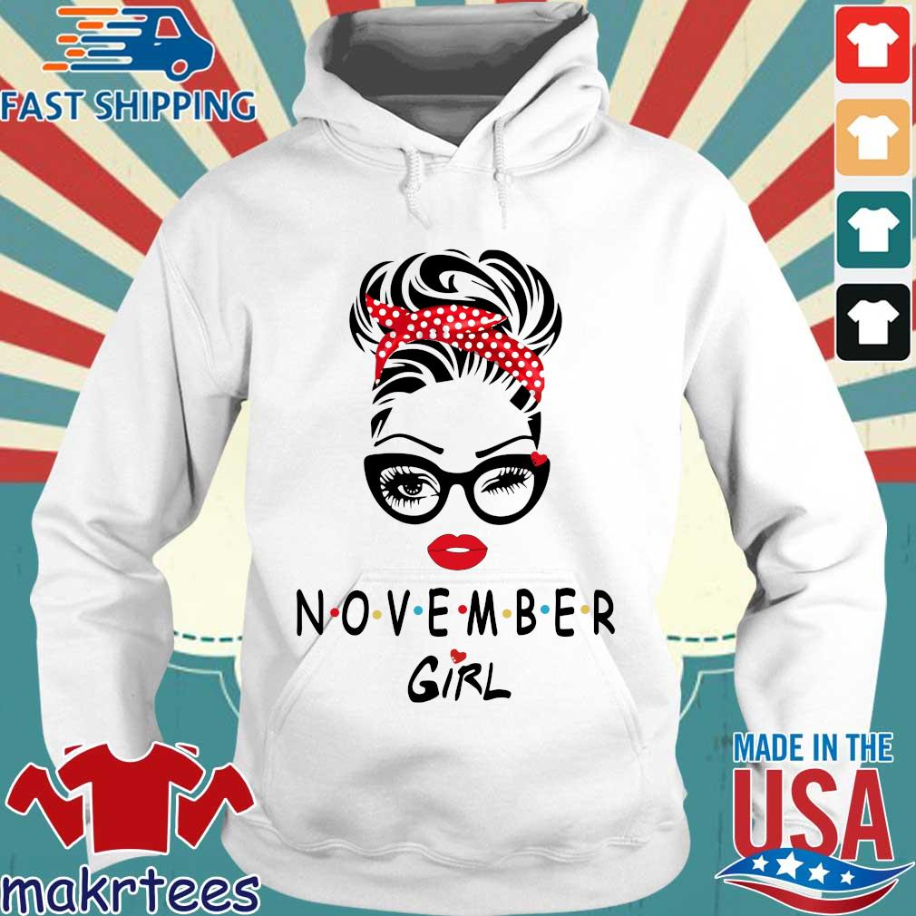 November girl 2021 Hoodie trang