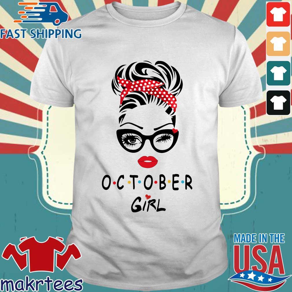 October girl 2021 shirt