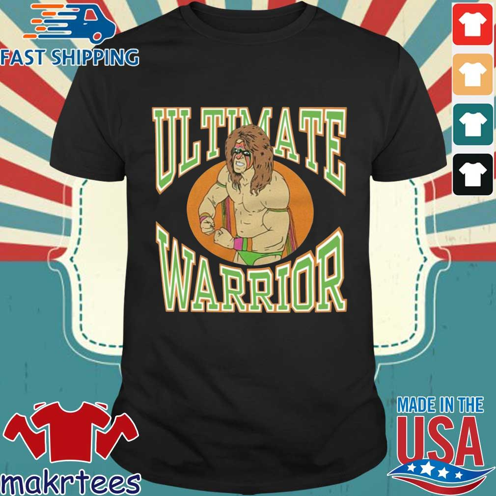 Offcial ltimate Warrior WWE shirt