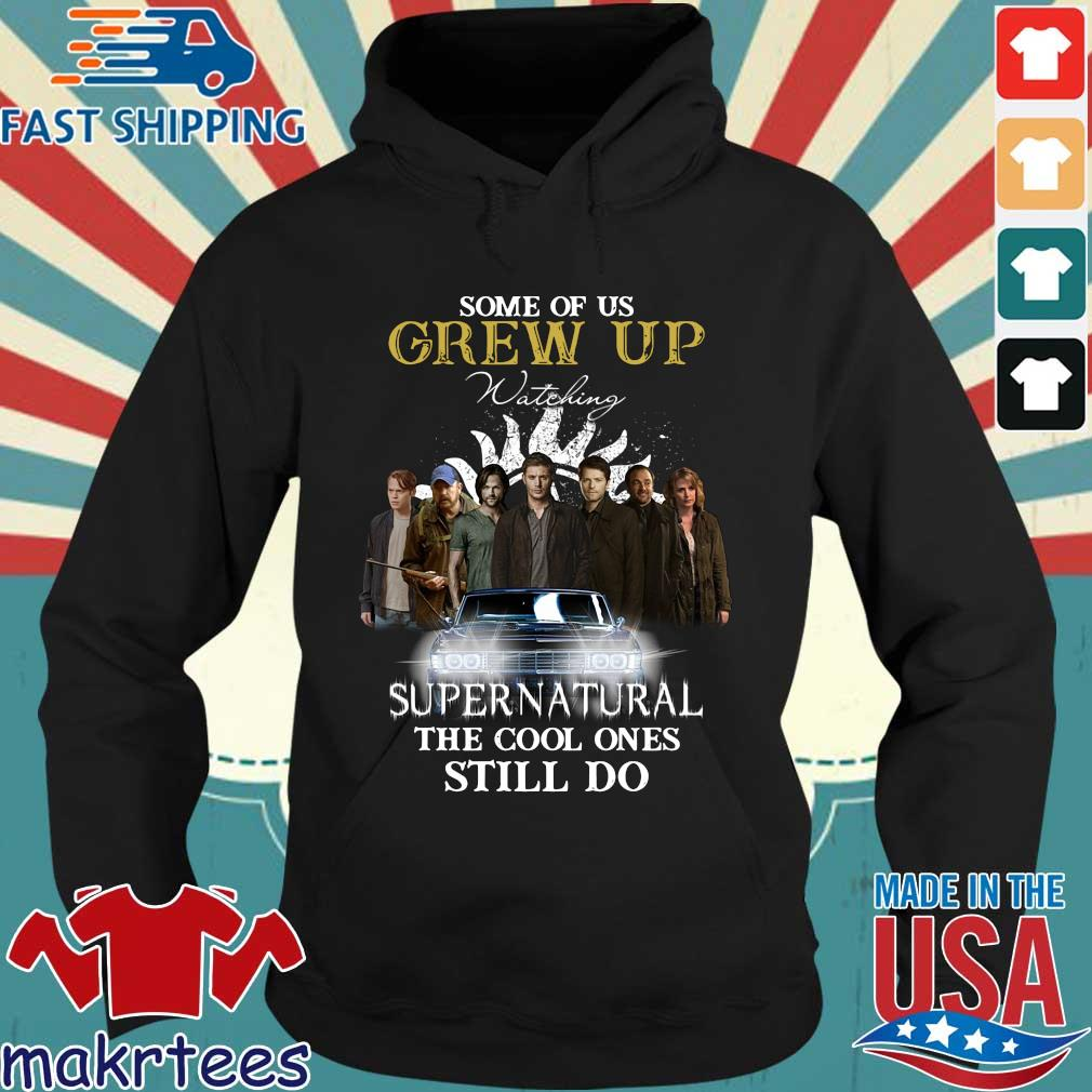 Official some of us grew up watching Supernatural the cool ones still do Hoodie den