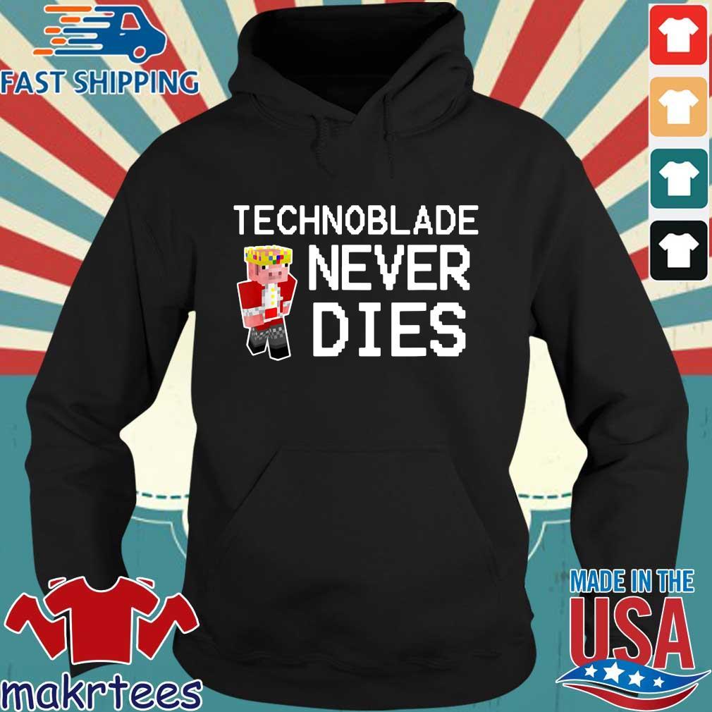 Technoblade never dies Hoodie den