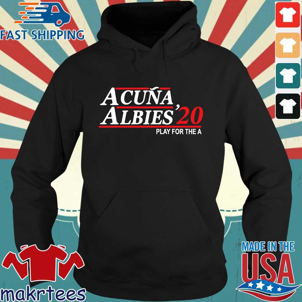 Acuna albies '20 play for the a Hoodie den