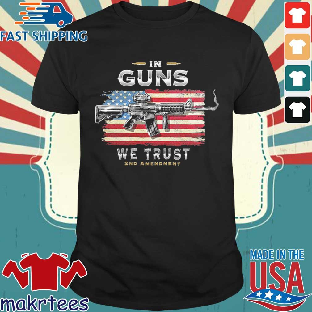 2nd Amendment In Guns We Trust Rn2457sw Shirt