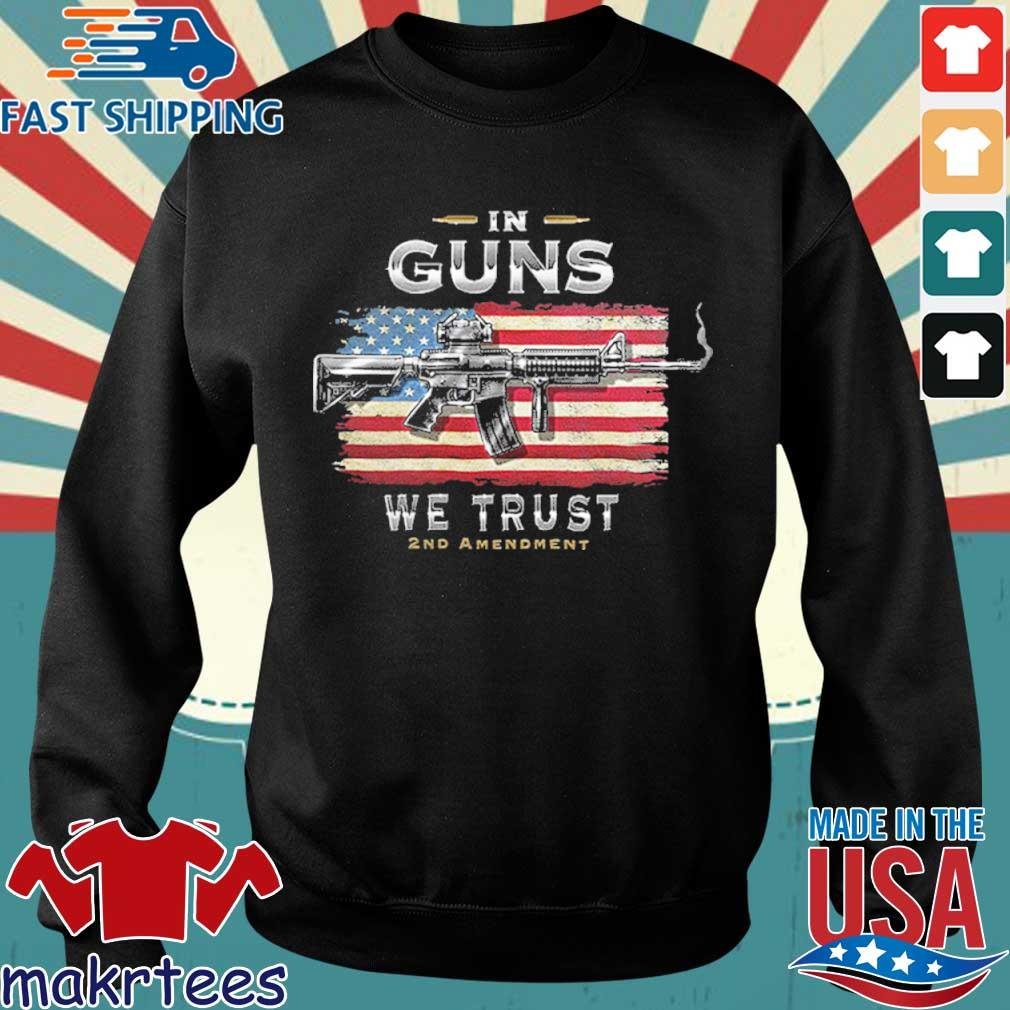 2nd Amendment In Guns We Trust Rn2457sw Shirt Sweater den