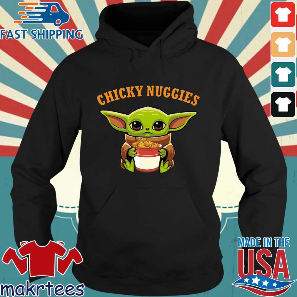 Baby Yoda Chicky Nuggies Shirt Hoodie den