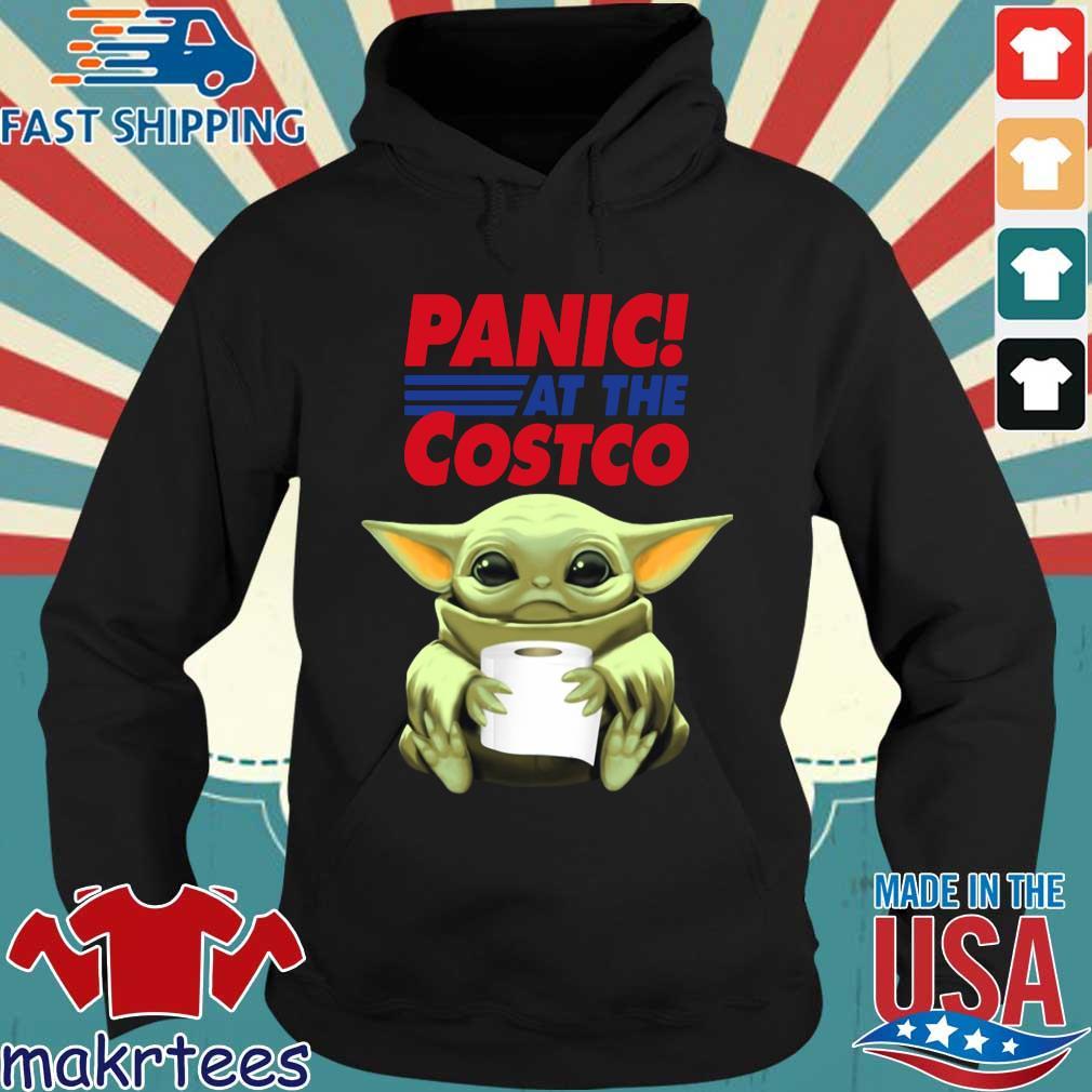 Baby Yoda Hug Toilet Paper Panic At The Costco Shirt Hoodie den