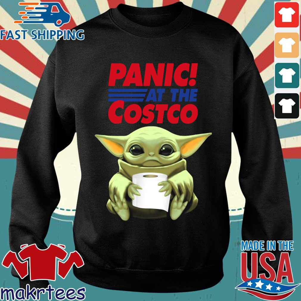 Baby Yoda Hug Toilet Paper Panic At The Costco Shirt Sweater den