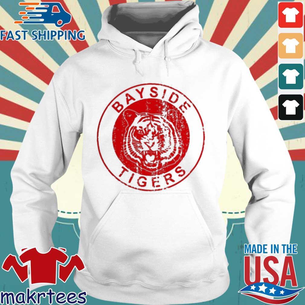 Bayside Tigers Shirt Hoodie trang