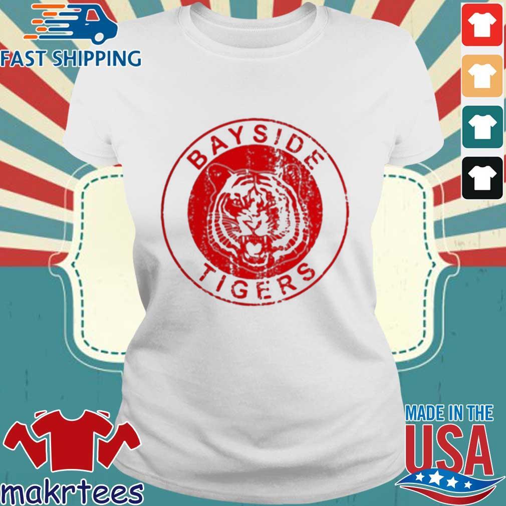 Bayside Tigers Shirt Ladies trang