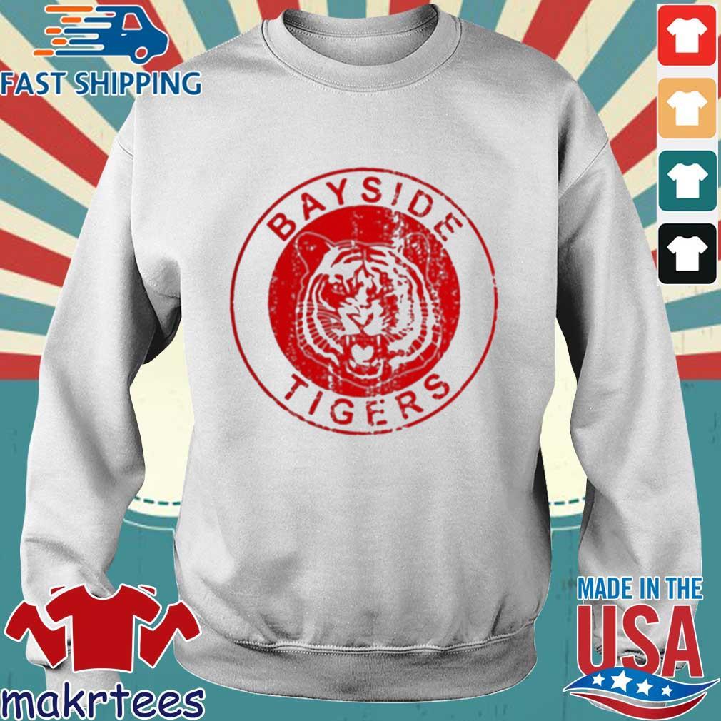 Bayside Tigers Shirt Sweater trang
