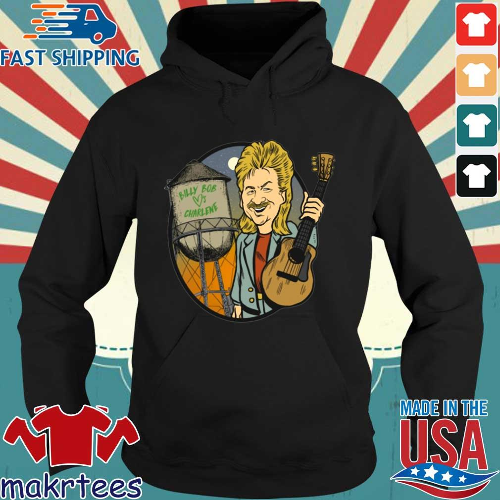 Billy Bob Loves Charlene Guitar Shirt Hoodie den