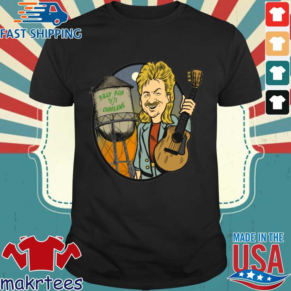 Billy Bob Loves Charlene Guitar Shirt