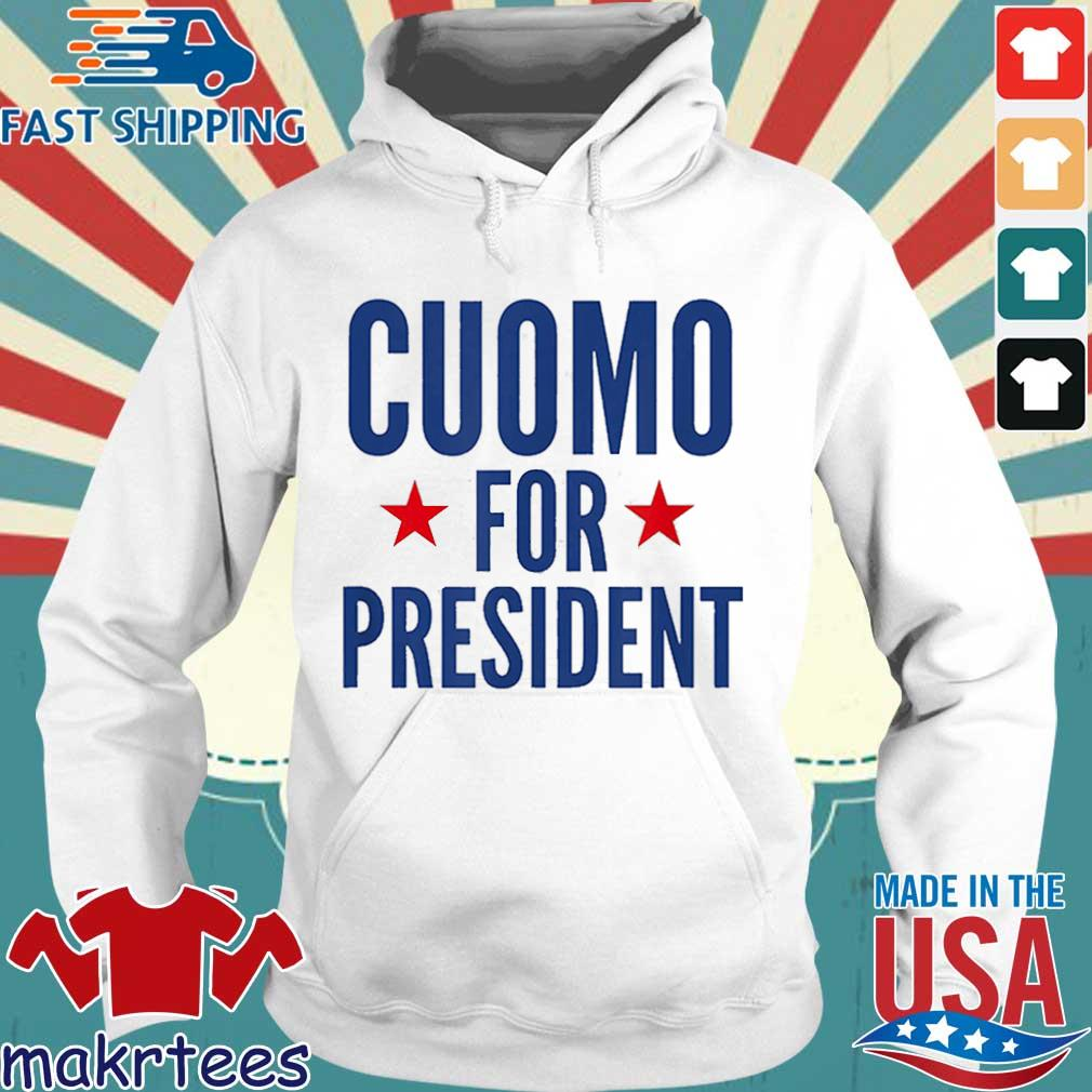 Cuomo For President Shirt Hoodie trang