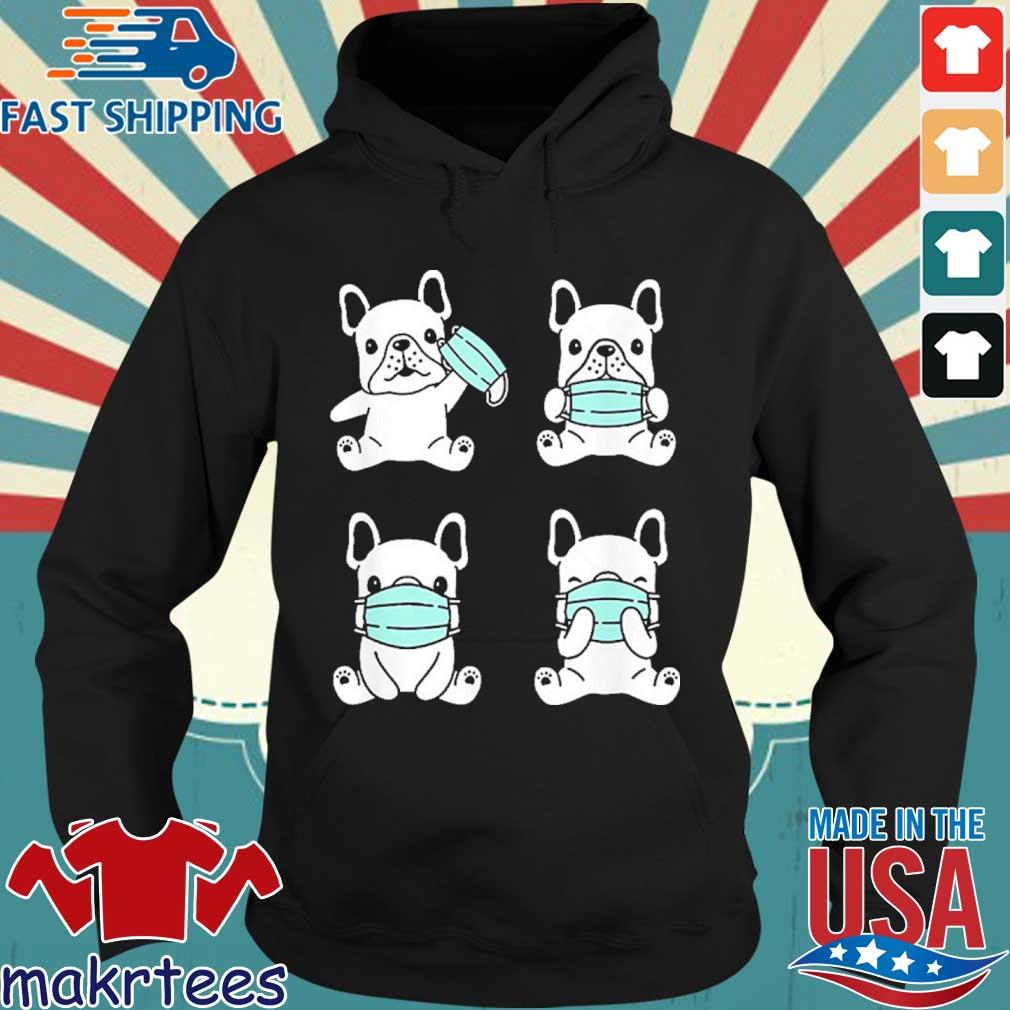 Dog Medical Face Mask French Bulldog Virus Pet Breed Doodle Shirt Hoodie den