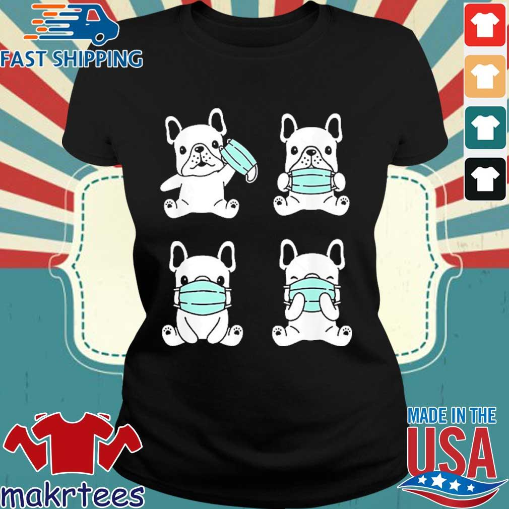 Dog Medical Face Mask French Bulldog Virus Pet Breed Doodle Shirt Ladies den