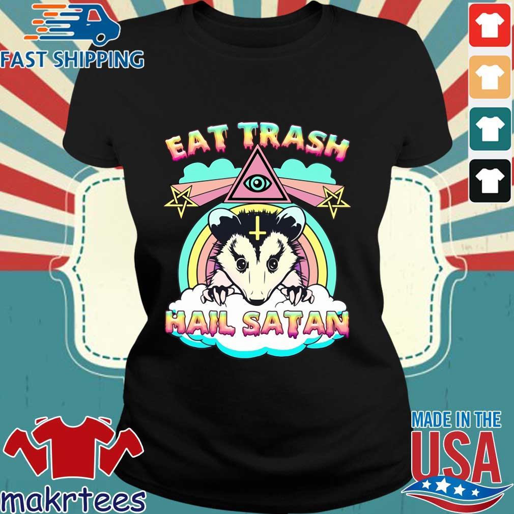 Eat trash hail satan s Ladies den