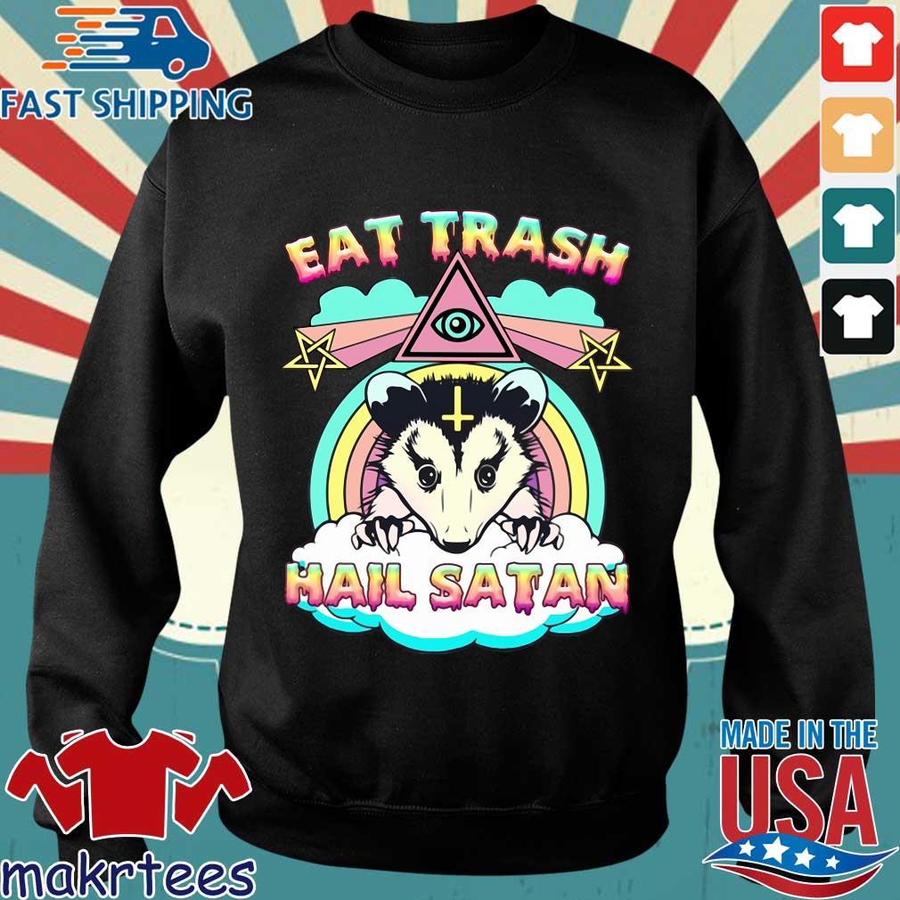 Eat trash hail satan s Sweater den