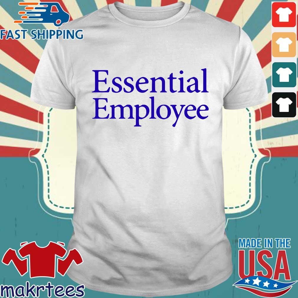 Essential Employee Blue Shirt