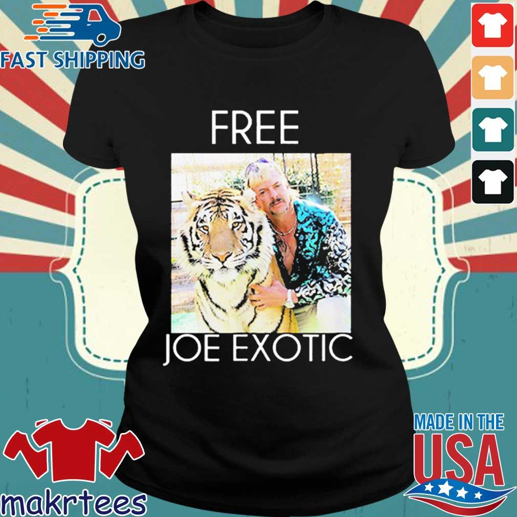 Free Joe Exotic Tiger King Premium Shirt Ladies den