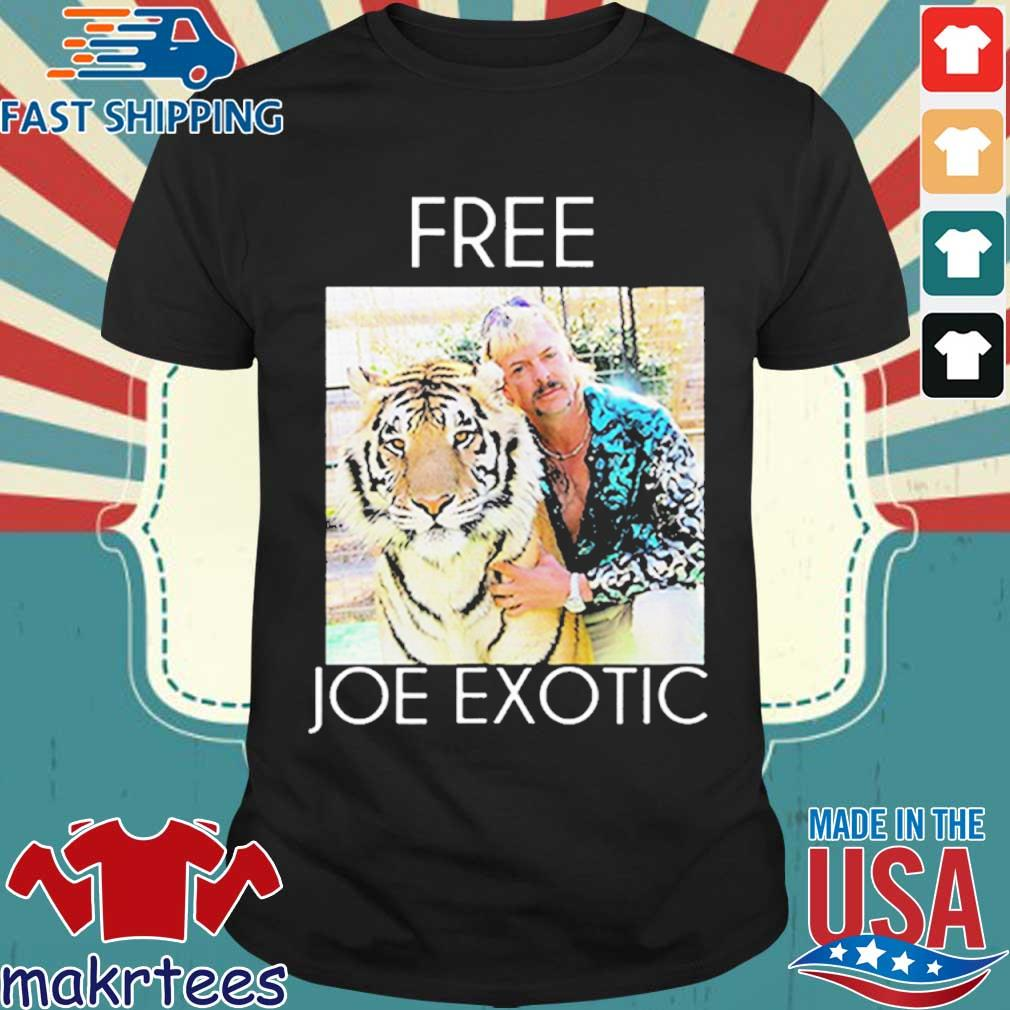 Free Joe Exotic Tiger King Premium Shirt