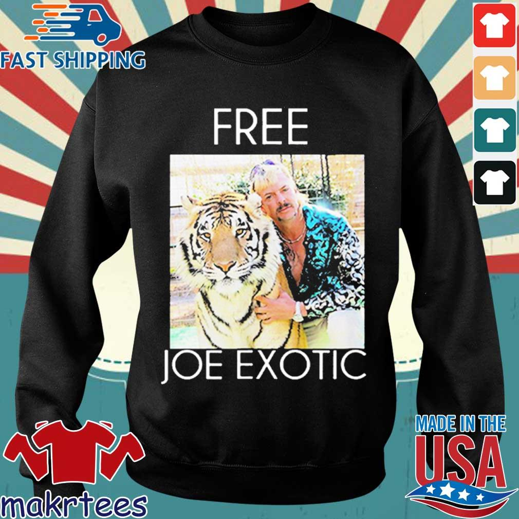 Free Joe Exotic Tiger King Premium Shirt Sweater den