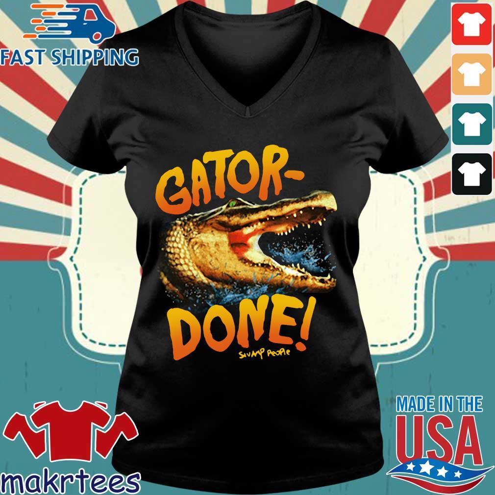 Gator Done Shirt Ladies V-neck den