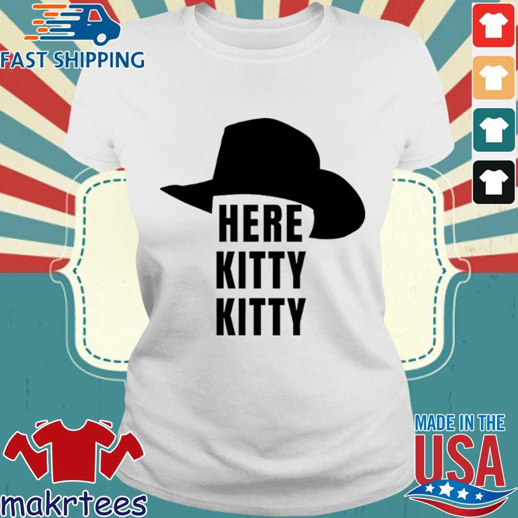 Here Kitty Kitt Joe Exotic Tiger King Shirt Ladies trang