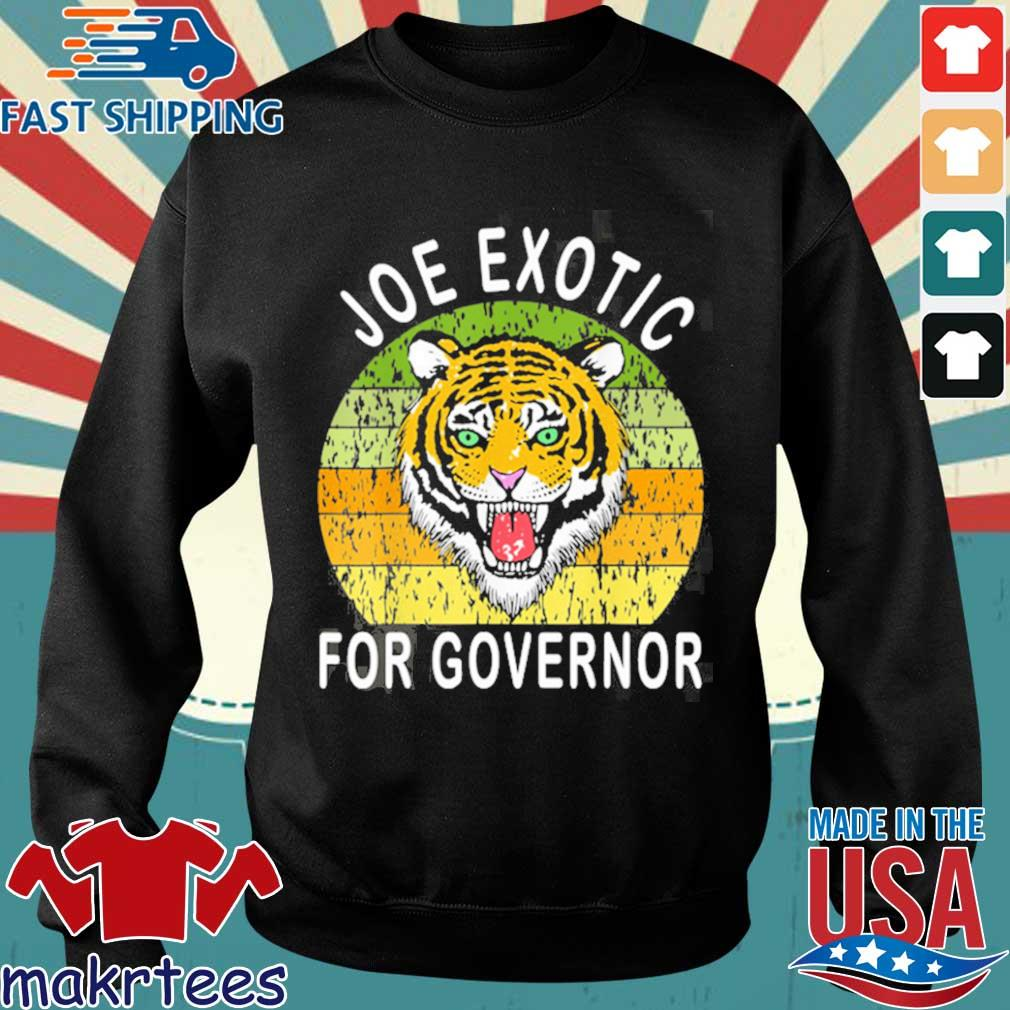 Joe Exotic For Governor 2020 Shirt Sweater den