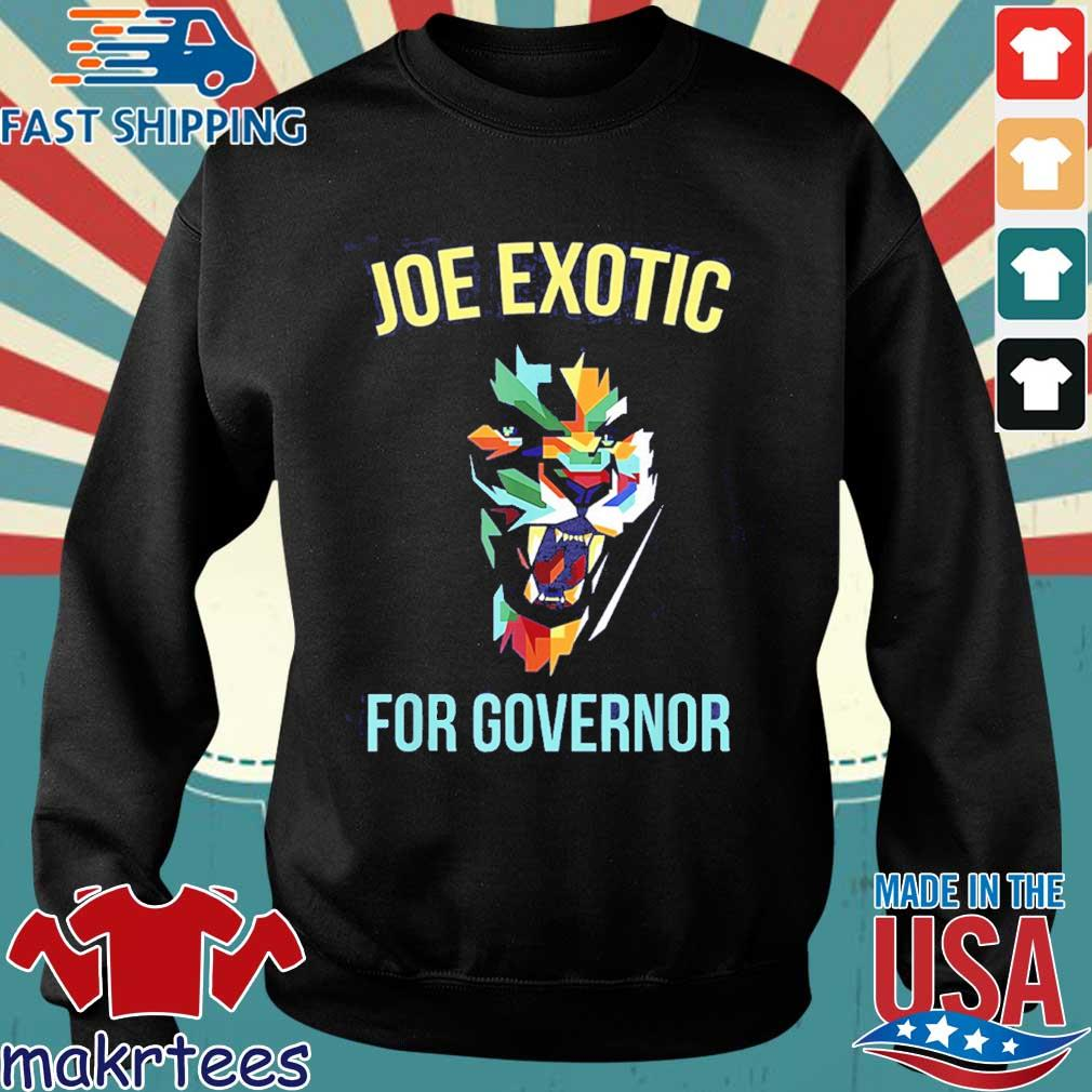 Joe Exotic For Governor Colorful Shirt Sweater den