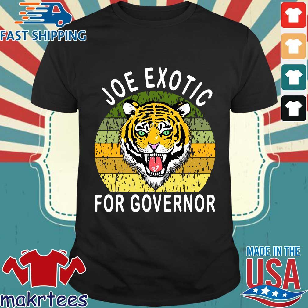 Joe Exotic For Governor Vintage Shirt