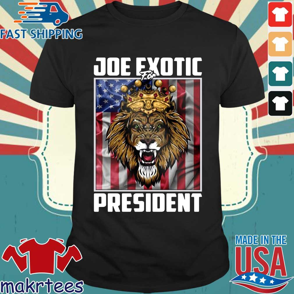 Joe Exotic for President Flag For Shirt